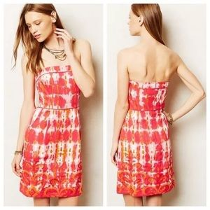 Anthropologie Tabitha Fresno Ikat Dress